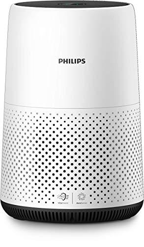 Philips AC0820/10 Luftreiniger entfernt bis zu 99,9% der Pollen, Staub, Viren und Aerosole* aus der...