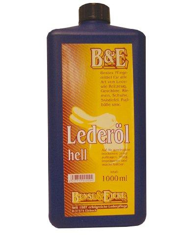 Bense+Eicke Lederöl - 1000 ml - hell 2202