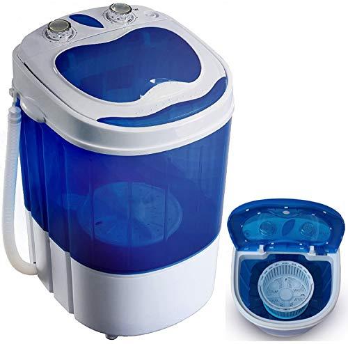 Mini Waschmaschine mit Schleuder   Waschautomat bis 3 KG   Reisewaschmaschine   Miniwaschmaschine  ...