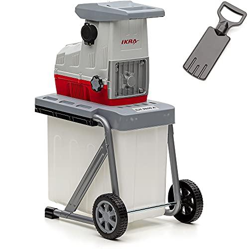 IKRA 81002880 Elektro Gartenhäcksler Walzenhäcksler ILH 3000 A, leise robust wartungsarm, Starke...