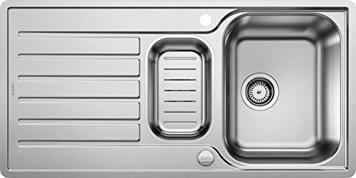 BLANCO LANTOS 6 S-IF - Küchenspüle für 60 cm breite Unterschränke - Mit IF-Flachrand und...