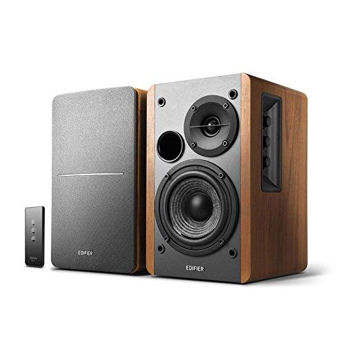 Edifier R1280T Aktive Regallautsprecher Paar - 2.0 aktiv Lautsprechersystem für PC -Studio Monitore...
