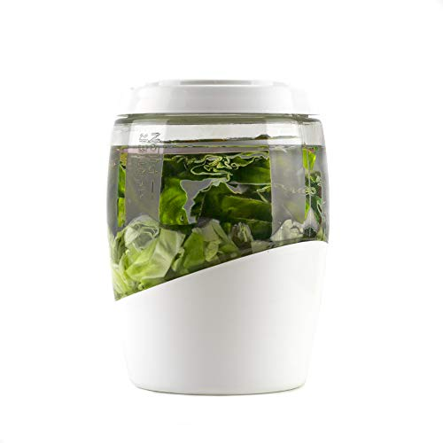 Mortier Pilon 5 L Glas-Gärtopf - fermentierte Lebensmittel zu Hause auf einfachste Art und Weise...