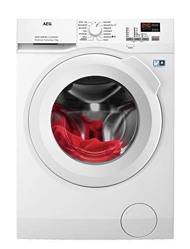 AEG L6FBA494 Waschmaschine / 9 kg / Waschvollautomat mit Mengenautomatik, Nachlegefunktion,...