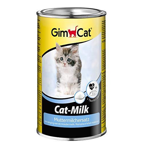 GimCat Cat-Milk Muttermilchersatz - Vitaminreiche Katzenmilch mit Taurin und Calcium - 1 Dose (1 x...
