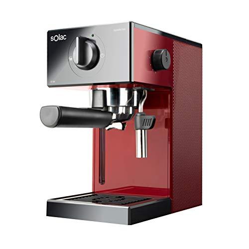 Solac CE4506 Squissita Easy Wine Espressomaschine, 20 bar, Double Cream, Espresso und Cappuccino,...