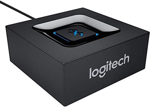 Logitech Kabelloser Bluetooth Audio-Empfänger, Multipoint Bluetooth, 3,5 mm & Cinch-Eingang,...