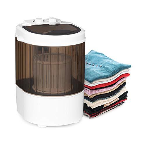 Klarstein Dash Duo Waschmaschine, Leistung: 180 Watt, Waschen: 2,5kg, Schleudern: 1kg, Timer: 0-15...