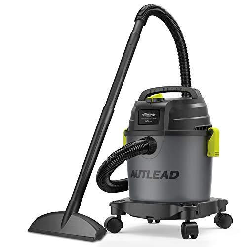 AUTLEAD nass trockensauger, 1000W 12L Tragbarer wassersauger mit 2 Düsen, Schalldämpfer, kompakt,...