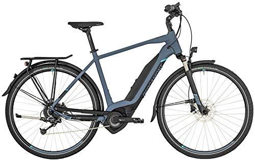 Bergamont E-Horizon 7 500 Pedelec Elektro Trekking Fahrrad blau/schwarz 2019: Größe: 52cm...