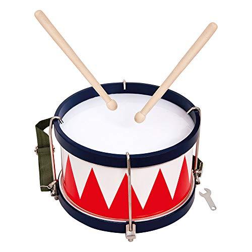 Bino Trommel, Spielzeug für Kinder ab 3 Jahre, Kinderspielzeug (Musikinstrument für Kinder...