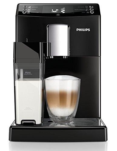 Philips EP3550/00 Kaffeevollautomat, Milchkaraffe, AquaClean, schwarz