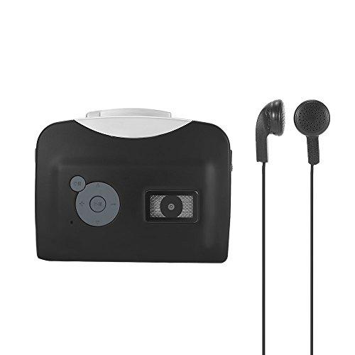 Docooler Tragbare Kassettenspieler Mp3 Player mit Kopfhörer - konvertieren Walkman Tape Kassetten...