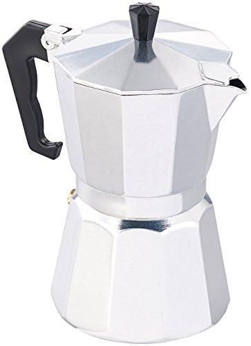 Cucina di Modena Espressokanne: Espressokocher für 6 Tassen, für Induktions-Herde geeignet, 300 ml...