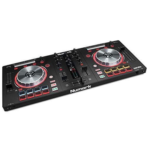 Numark Mixtrack Pro 3 - All-In-One 2-Deck DJ Controller für Serato DJ inklusive eines integrierten...