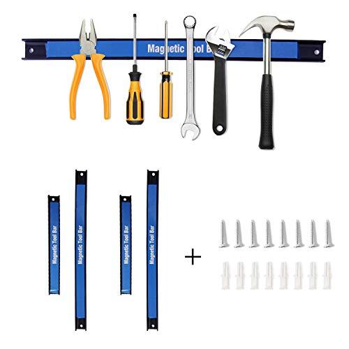 CCLIFE 4 tlg Magnetleiste Werkzeughalter Werkzeug Halterung Magnet Werkzeugleiste