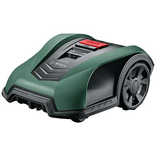 Bosch Roboter Rasenmäher Indego S+ 350 (mit App-Funktion, 19 cm Schnittbreite, für Rasenflächen...