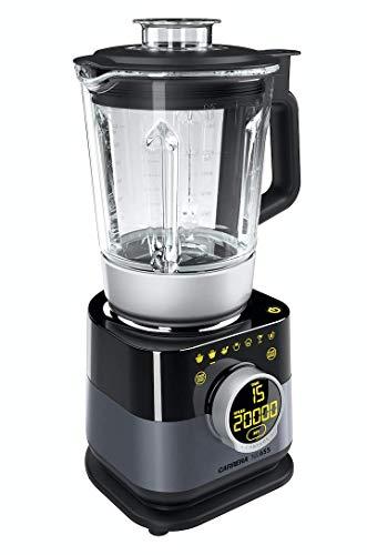CARRERA Standmixer No 655 | Soup Smoothie Maker | Dampfgarer (BPA frei) | 4 Edelstahl Messer | Glas...