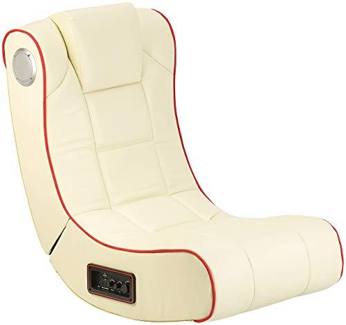 Mod-It Sound-Sessel: 2.1-Soundsessel mit Vibration für Gaming & Film, Bluetooth, cremeweiß...