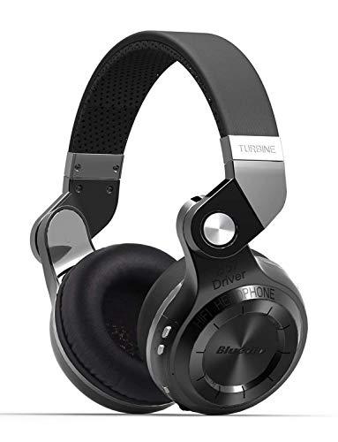 Bluedio T2S Over-Ear-Stereokopfhörer, (Turbine 2, integrierter Equalizer, Bluetooth 4.1, drahtlos,...