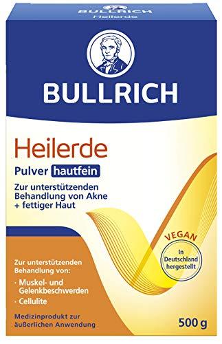 Bullrich Heilerde Pulver hautfein   Hilfe bei Akne, fettiger und unreiner Haut, Cellulite, Muskel-...