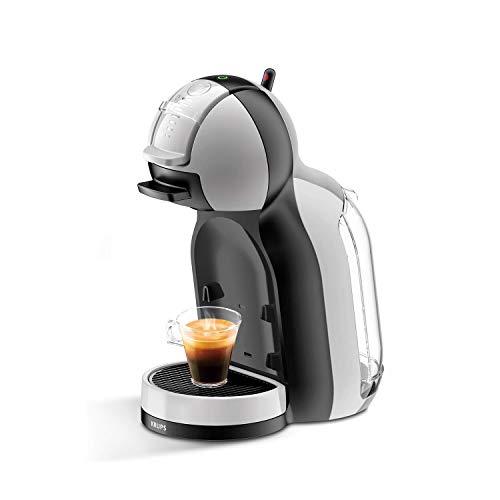 Krups KP123B Nescafé Dolce Gusto Mini Me Kaffeekapselmaschine, 1500 Watt, artic-grey/schwarz