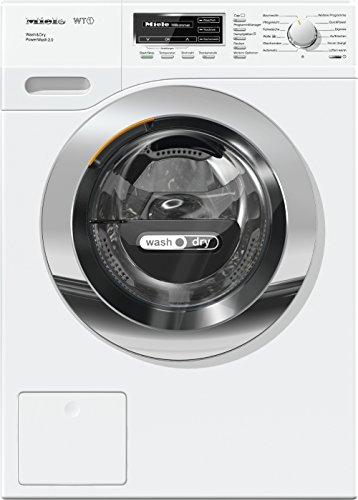 Miele WTF 130 WPM Waschtrockner für gute Wasch- und Trockenergebnisse/Weiß/Waschtrockner Kombi mit...