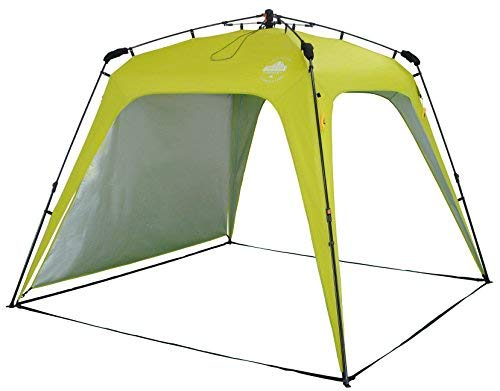 Lumaland Outdoor Pop Up Familienzelt Wurfzelt 6 Personen Zelt Camping Festival etc. 315 x 245 x 170...