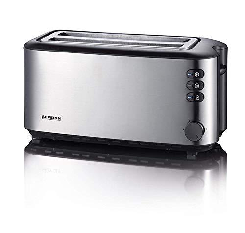 SEVERIN AT 2509 Automatik-Toaster (1.400 W, 2 Langschlitzkammern, für bis zu 4 Brotscheiben)...