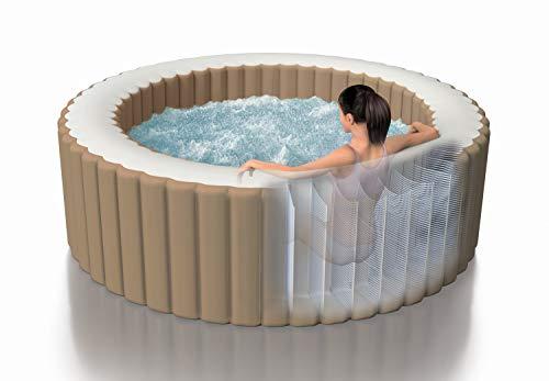 Intex Whirlpool Pure SPA Bubble Massage - Ø 216 cm x 71 cm, für 6 Personen, Fassungsvermögen...