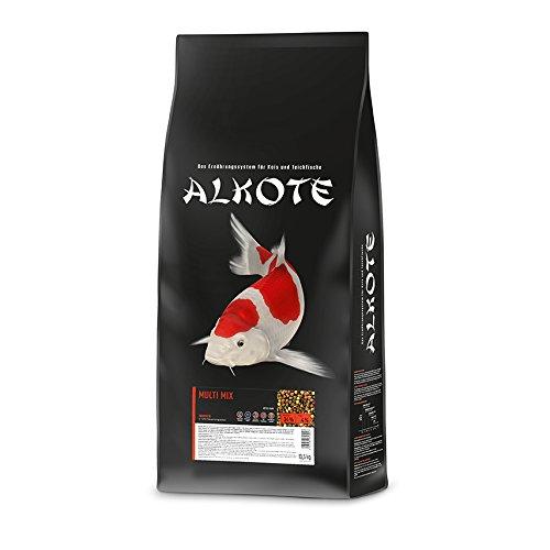 AL-KO-TE, 1-Jahreszeitenfutter für Kois, Sommermonate, Schwimmende Pellets, 6 mm, Hauptfutter Multi...
