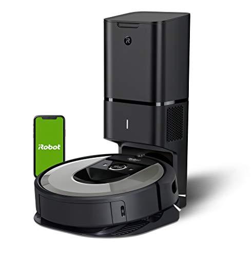 iRobot Roomba i7+ (i7556) Saugroboter, automatische Absaugstation, intelligente Raumerfassung,...