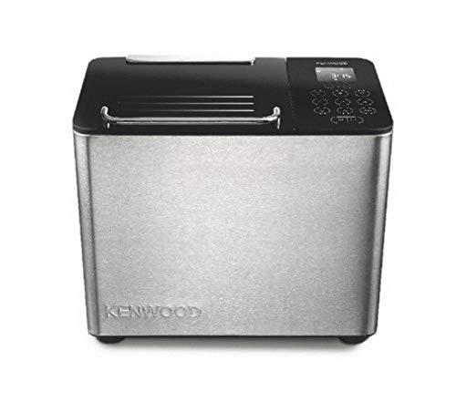Kenwood BM 450 Brotbackautomat (780 Watt Rapid bake) schwarz/silber