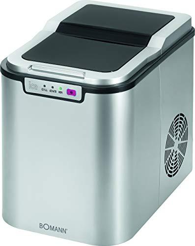 Bomann EWB 1027 CB Eiswürfelbereiter für ca. 10–15 kg Eiswürfel in 24 Std., LED-Anzeige und...
