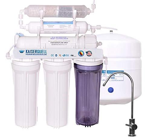 kaiserquell Premium Wasserfilteranlage handgefertigt in Deutschland 6 stufig Osmoseanlage...