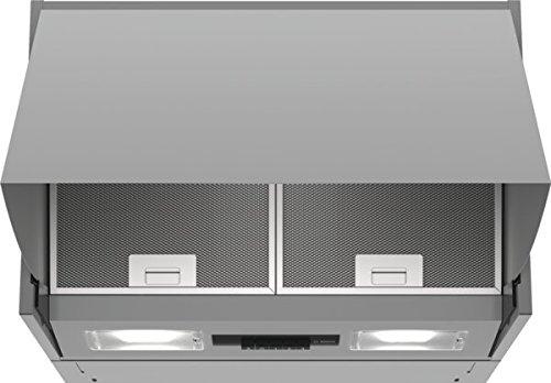 Bosch DEM66AC00 Serie 2 Zwischenbauhaube / B / 60 cm / Silber / wahlweise Umluft- oder Abluftbetrieb...