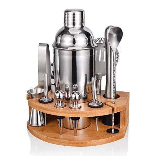 Cocktail Shaker Set,Esmula 750ML Edelstahl Barkeeper Kit Professionelles Martini Mixing Bartending...