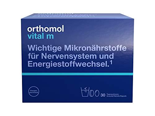 Orthomol vital m 30er Granulat, Tablette & Kapseln, Orange - Vitamin Komplex für Männer bei...