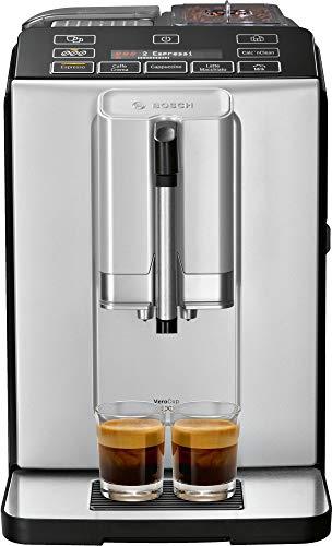 Bosch VeroCup 300 TIS30351DE Kaffeevollautomat (1300 Watt, Keramikmahlwerk, Display,...