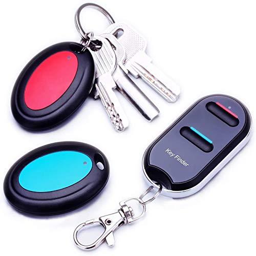 VODESON Wireless Key Finder RF Kabelloser Sachenfinder Schlüsselfinder Schlüsselanhänger Wallet...