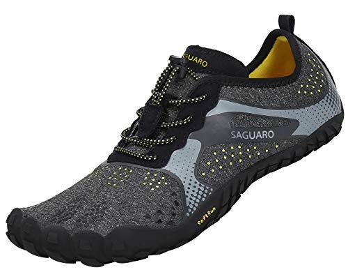 SAGUARO Barfußschuhe Herren Damen Traillaufschuhe Outdoor & Indoor Training Fitnessschuhe Wander...