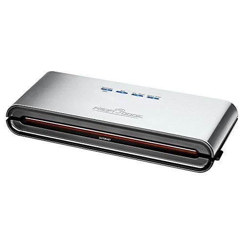 ProfiCook PC-VK 1080 Edelstahl-Vakuumiergerät, Lebensmittel bleiben vakuumiert bis zu 8x länger...