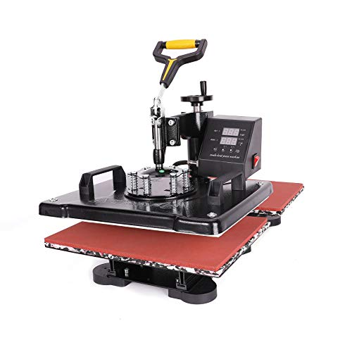 Sfeomi Hitzepresse Heißpresse Heat Press Machine 38x30cm Transferpresse Tassenpresse Textilpresse...