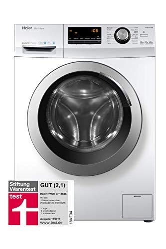 Haier HW80-BP14636 Waschmaschine Frontlader/A+++/8 kg/1400 UpM/Vollwasserschutz