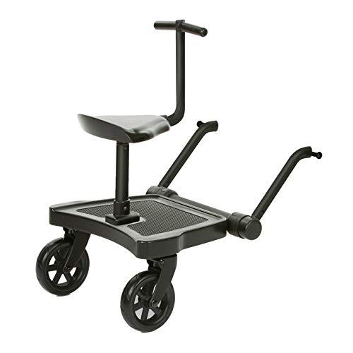 ABC Design Universal Kiddy Board - Kiddie Ride On 2 inkl. Sitz | beslastbar bis 20 kg | Universell...