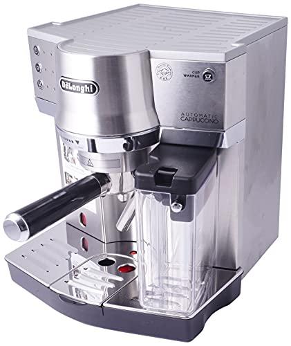 De'Longhi Ec860.M DeLonghi EC 860.M Espresso-Siebträgermaschine (1450 W) silber, Edelstahl, 1...