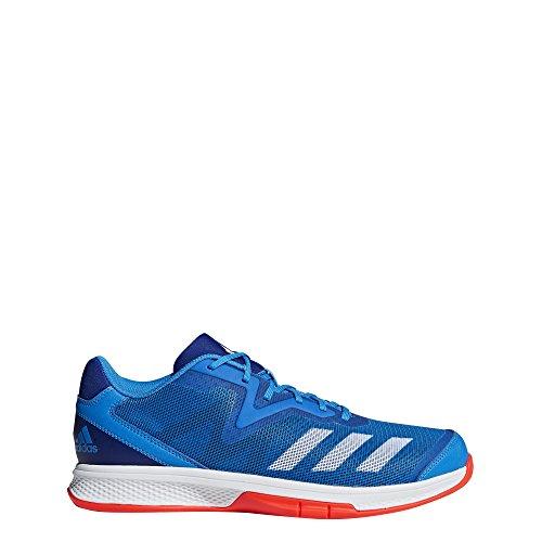 adidas Herren Counterblast Exadic Handballschuhe, Blau (Azubri/Ftwbla/Rojsol 000), 42 EU