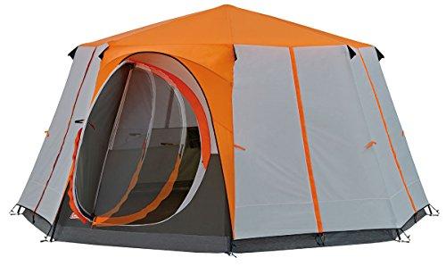 Coleman Octagon 8 Mann Zelt, orange, Einheitsgröße