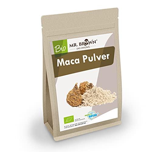 1kg BIO Maca Pulver aus Peru, aus kontrolliert biologischem Anbau, Lepidium meyenii