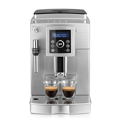 De'Longhi ECAM 23.420.SB Kaffeevollautomat mit Milchaufschäumdüse für Cappuccino, Espresso...